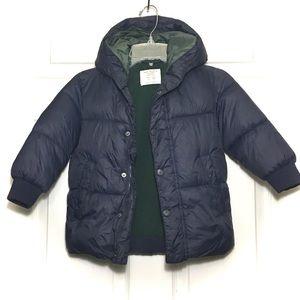 Zara Boys Puffer Jacket SZ 2/3 Yrs